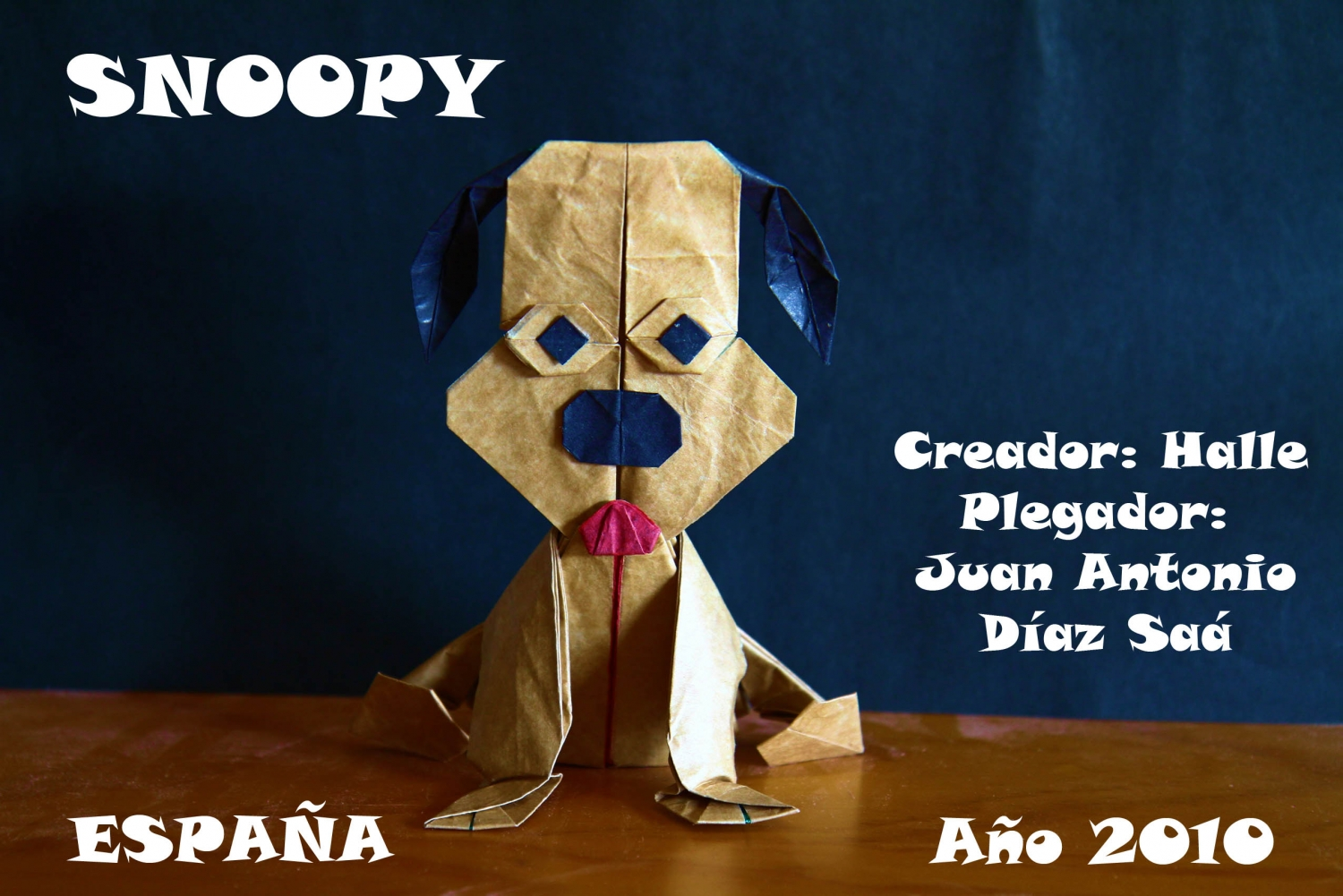SNOOPY Halle Juan Antonio Díaz. SNOOPY : Passion Origami ... - photo#35