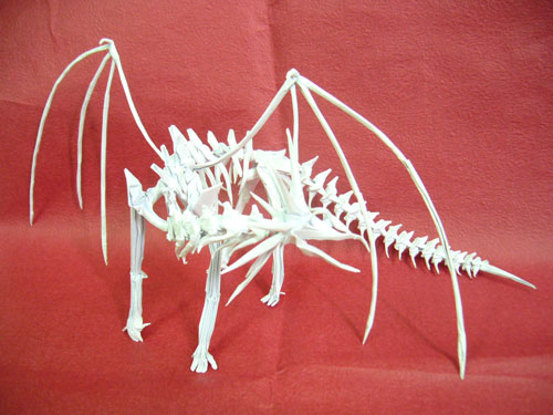 Ancient Dragon Skeleton