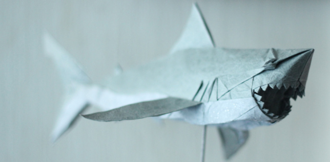 Origami Great White Shark Nguyen Hung Cuong Diagram