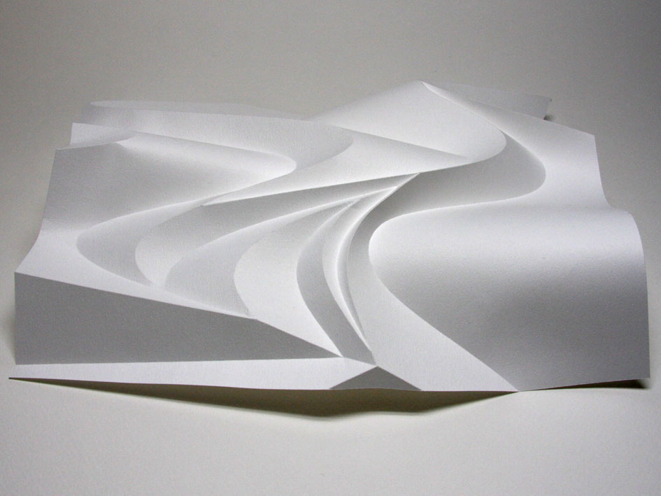 Relief of a wave jun mitani for Landscape design paper